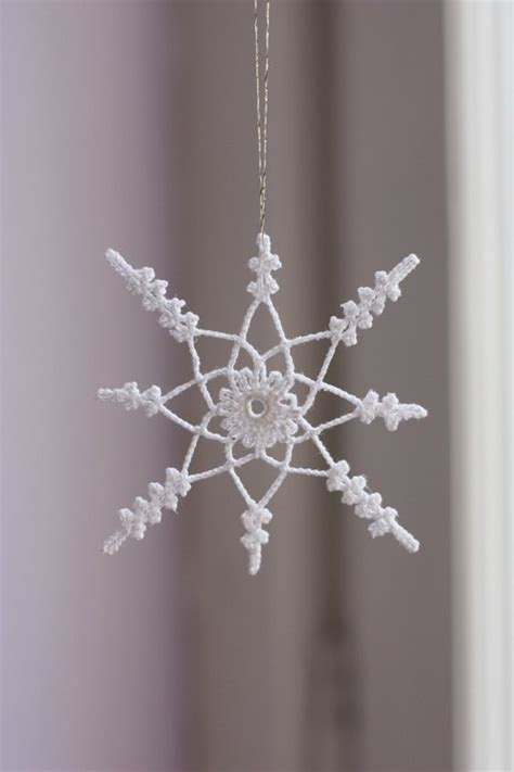 crochet snowflake pattern worsted weight yarn beautiful inspiration to crochet your own snowflakes this
