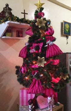 pink christmas tree victoria s secret and pink inspired