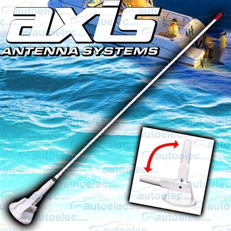 axis boats ebay axis 27mhz boat marine radio 1 metre antenna fold down