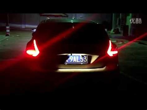 2012 ford fusion led tail lights 2012 2014 ford focus led tail lights youtube
