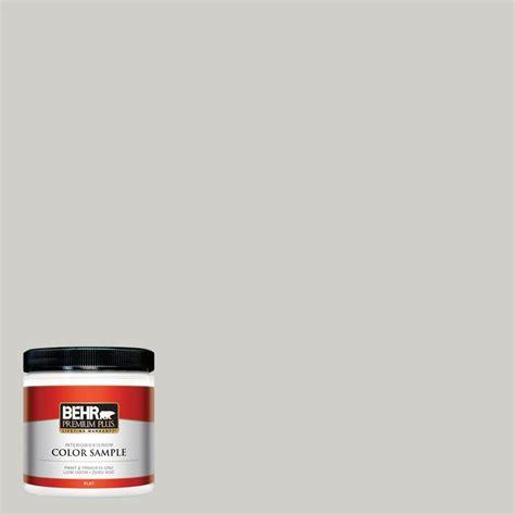 behr premium plus 8 oz hdc nt 17g polar fox flat interior exterior paint sle pp10016 the