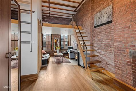 east village loft this nyc apartment was once a small 186 e second st loft or not tons of style for 460k
