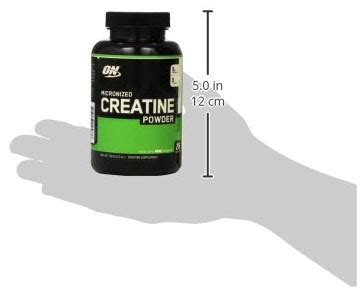 o n creatine optimum nutrition creatine powder supplement review