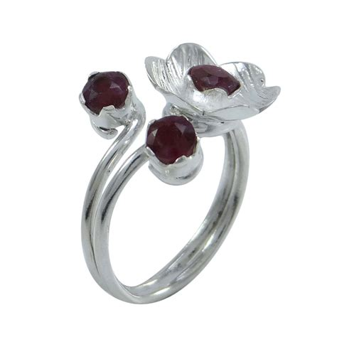 925 Sterling Silver Gemstone Ring gemstone 925 sterling silver ring band fashionable