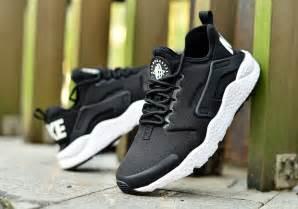 Nike Huarache Run Ultra Black White Premium Quality nike air huarache run ultra black white sneaker bar detroit