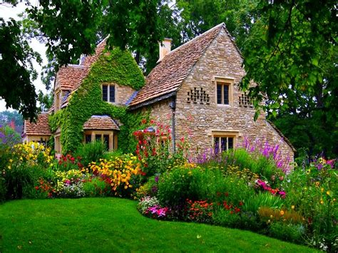 wallpaper english mansions cottage anglais wallpaper