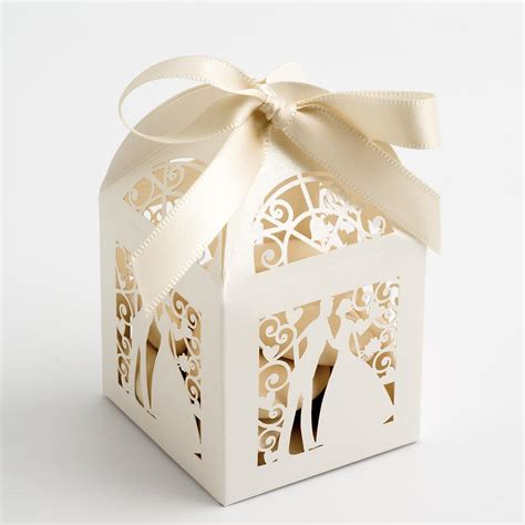 Wedding Box Bridal by Ivory Filigree And Groom Favour Boxes At Favour This
