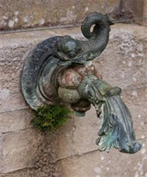 gargoyle rain water spouts copper pinterest