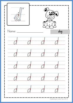 Foundation Writing Worksheets by Handwriting Free Practice Makes Lowercase