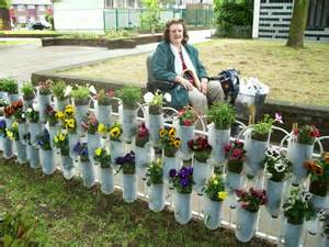 Garden With Recycled Materials How To Recycle Stunning Recycled Gardening