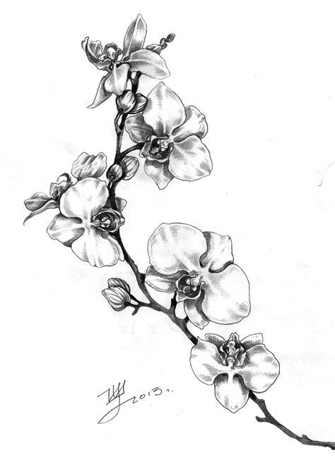 tatuaggi fiori orchidea floreale tattoos orchid e