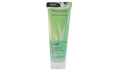 Harga Wardah Aloe Hydramild 5 rekomendasi aloe vera gel versi drugstore yang harganya