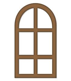 Curved Window Openings Clipart Clipground