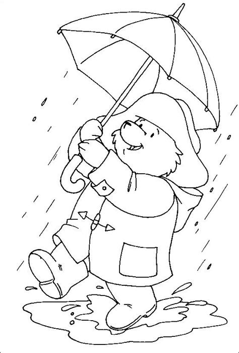 coloring pages paddington bear picture 1