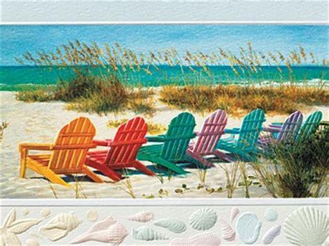 beach themed birthday quotes rainbow beach chairs beach themed birthday greeting cards