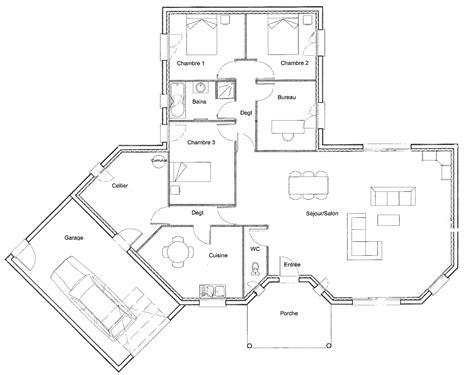 arri鑽e plan bureau gratuit plan de maison 201 l 233 gance personnalisable