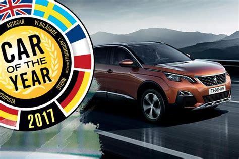 peugeot car of the year car of the year 2017 vince la peugeot 3008 seconda l