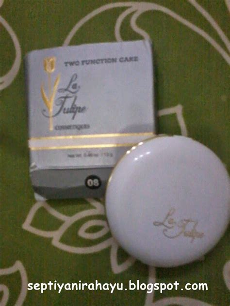 La Tulipe Refill Two Function Cake No 07 13gr 4 my and a simple diary review bedak la tulipe two function cake