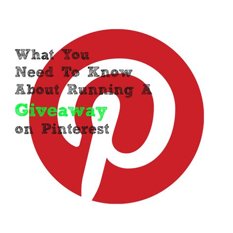 Rules For Giveaways On Facebook - pinterest giveaway rules updated