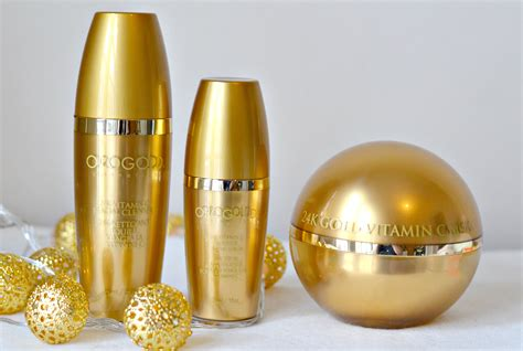 Serum Vitamin C Gold orogold cosmetics skincare infused with 24k gold luxury at its hayley uk