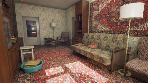 russian room dmitriy masaltsev russian living room ue4