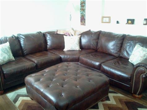 durablend leather sectional ashley furniture sectional durablend leather and ottoman