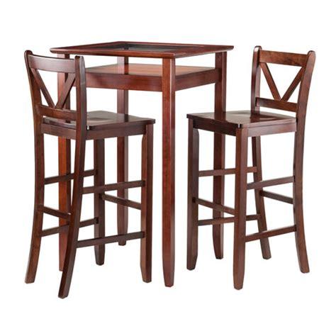 pub table solid wood solid wood pub table bellacor