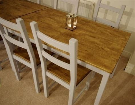 ikea dining table hacks 9 diy ikea ingo table makeovers you should try shelterness