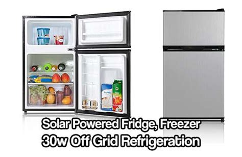Freezer Low Watt solar powered fridge freezer 30w grid refrigeration