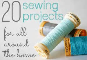 sew for home 20 sewing projects for all around the house the shabby
