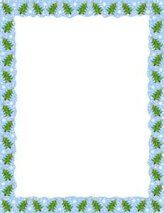 Borders have been added including christmas borders paw print borders