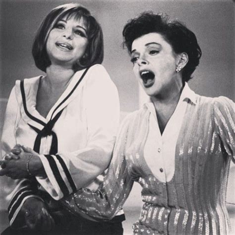 barbra streisand on judy garland barbra streisand and judy garland vintage times classic