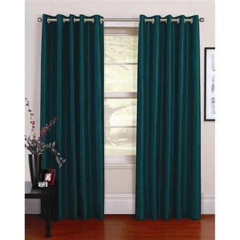 urban curtains urban living venezia jade silk readymade eyelet curtain