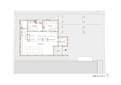 pharmacy design floor plans gallery of kinubashi pharmacy soeda and associates