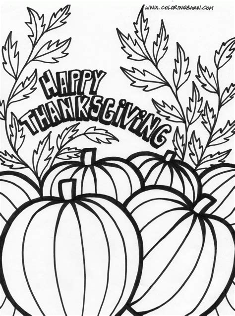 Download Coloring Pages Thanksgiving Coloring Pages Free Thanksgiving Coloring Pages Pdf