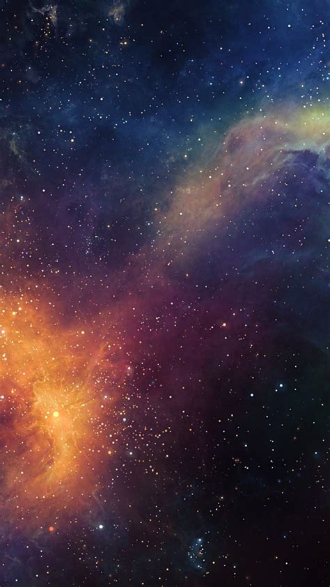 galaxy nebula space infinite stars wallpaper iphone
