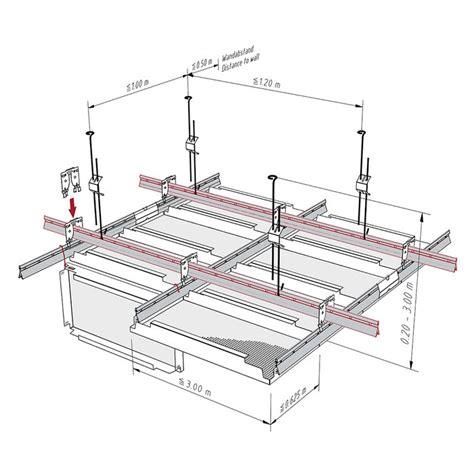 draht bild hängendes system langfeld klemmkassetten mit rostprofil schnellabh 228 nger