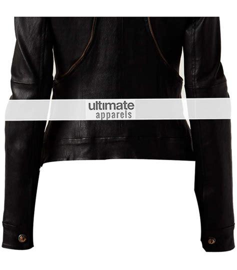 Zip Trim Slim Fit versace black zip trim biker slim fit jacket