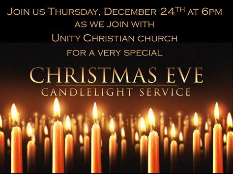 Candlelight Service Program - ucpc events unity church of practical christianity