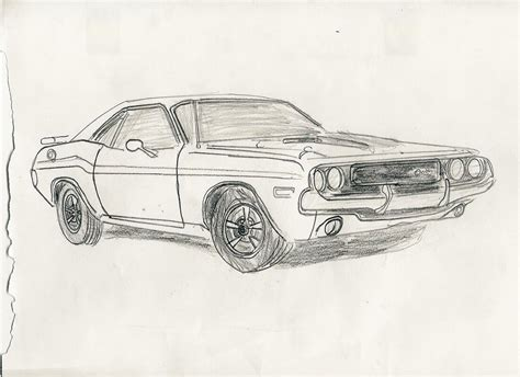 how to draw a dodge challenger drawingforall net 1970 dodge challenger by carfan on deviantart