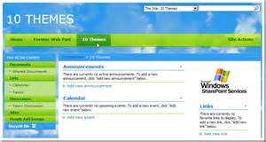 sharepoint 2013 site templates free ten 10 free sharepoint themes visual overview