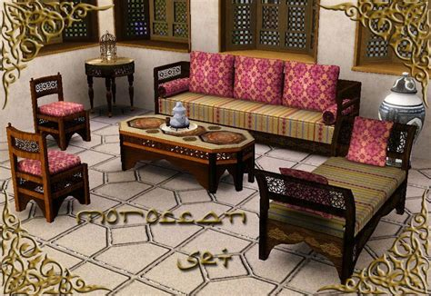 moroccan living room set my sims 3 the moroccan set theme multicultural by monca533