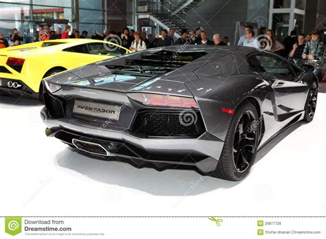 Lamborghini Stock Lamborghini Aventador Editorial Stock Photo Image 26877728
