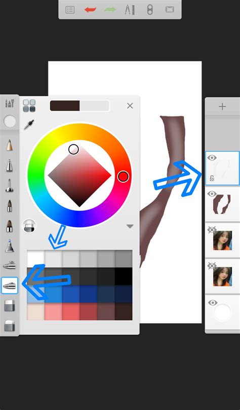 Tutorial Smudge Di Sketchbook Android | tutorial rambut smudge painting di android autodesk