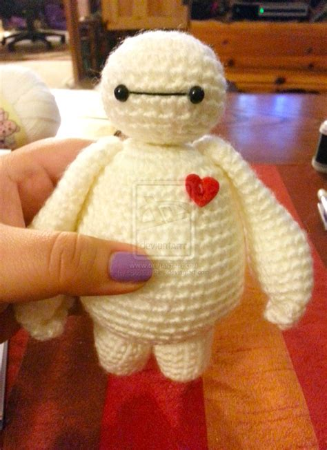 Amigurumi Baymax baymax big 6 amigurumi crochet doll by spudsstitches