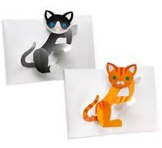 Pop Up Kitten Card Template by 1000 Images About Moving Cards To Make On Pop