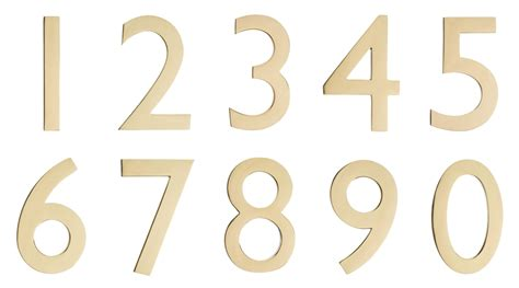brass house numbers cast brass house numbers 0 9 architectural mailboxes