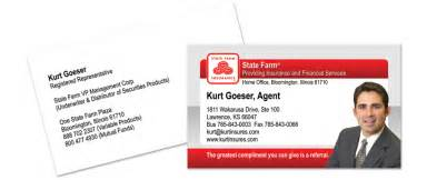 state farm business card state farm business cards 187 ta design company
