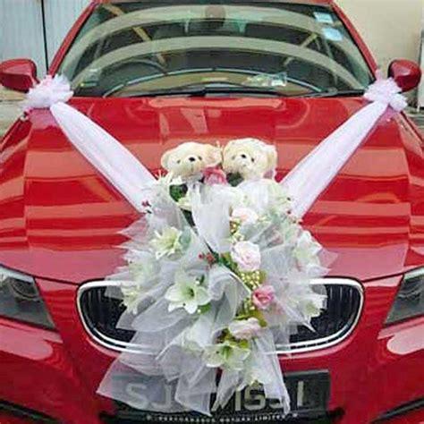 Wedding Car Flowers Singapore by Wedding Car Artificial Flowers Decoration Wedding