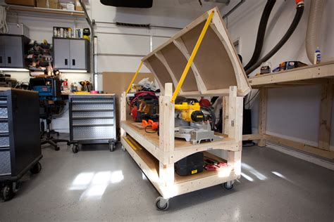 rolling tool workbench workbench plans tommy s rolling workbench and miter saw